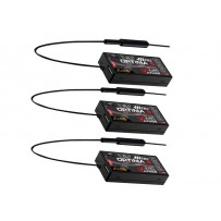 Hitec Optima 6 6-Channel 2.4GHz Receiver Triple Pack