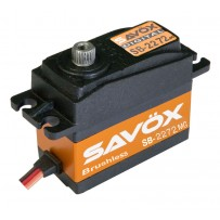 Savox SB-2272MG Lightning Speed Brushless Metal Gear Standard Digital Servo High Voltage