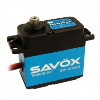 Savox Waterproof Coreless Digital Servo with Aluminum Case .15/277.7 - SAVSW1210SG