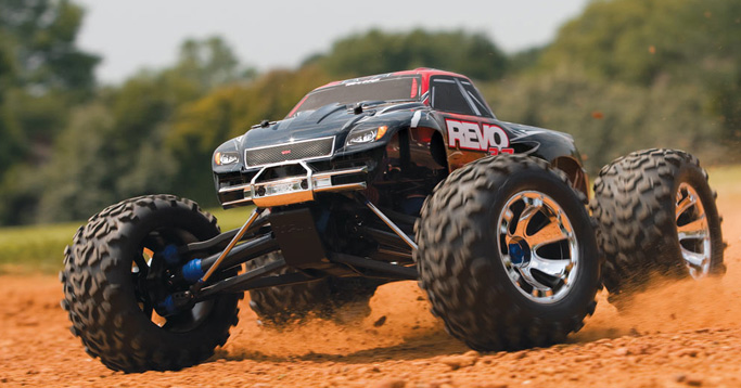 Traxxas Revo 3.3 4WD Nitro-Powered Monster Truck Ready-To-Race Truck